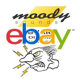 moody pedals ebay