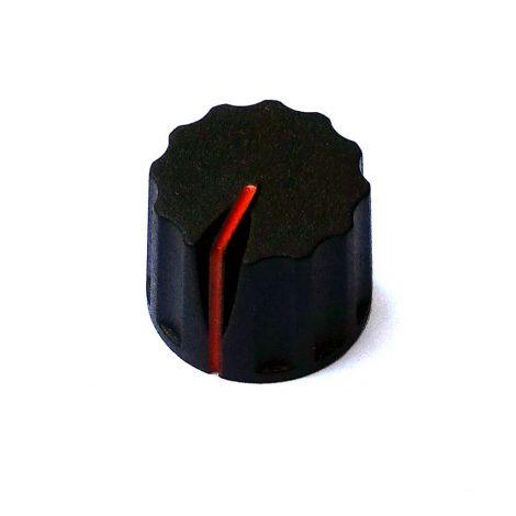 red indicator knob